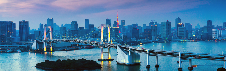 Rainbow bridge twilight